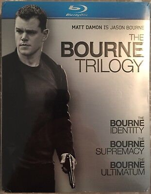 The Bourne Trilogy (Blu-ray Disc, 2010, 3-Disc Set) NEW - SEALED!