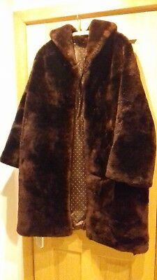 Rare Vintage Fur Coat, styled in furs processed by Martins of London
