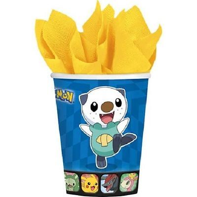 Pokemon Birthday Party 8 9 oz Hot Cold Paper Cups