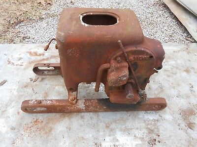 GAS  ENGINE:  HIT & MISS,  International Harvester,  Type LB  Stationary  Engine