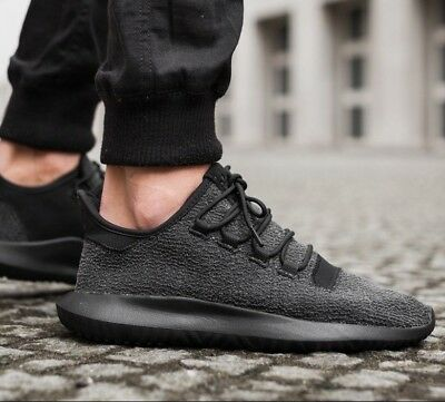 Adidas Originals Tubular Shadow Triple Black Dupont Kevlar BY4392 Men's 8