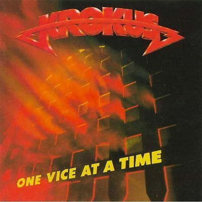 Krokus - Once Vice At A Time (LP, Limited Edition, Orange Vinyl, NEW, Sealed)