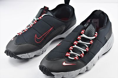 3f68473d07aa NIKE AIR FOOTSCAPE NM Natural Motion Black Wolf Grey Red 852629-01 ...