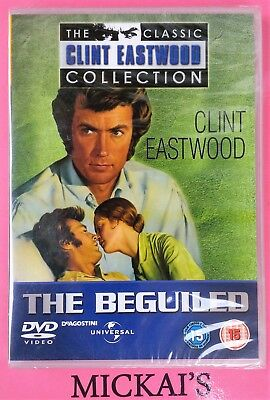 THE BEGUILED - THE CLASSIC CLINT EASTWOOD COLLECTION CCECN40 DeAGOSTINI DVD PAL