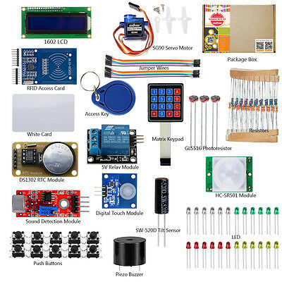 US Basic RFID Security Master Starter Kit for Arduino UNO R3 Learning DIY