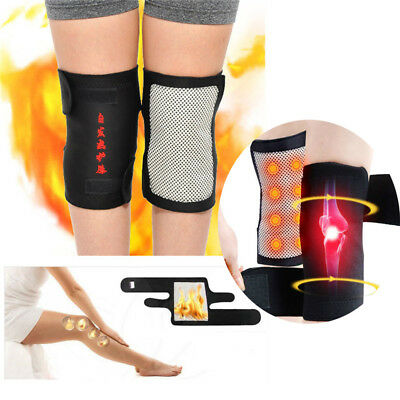 Tourmaline Self Heating Heated Thermal Magnetic Therapy Knee Support Brace Pad