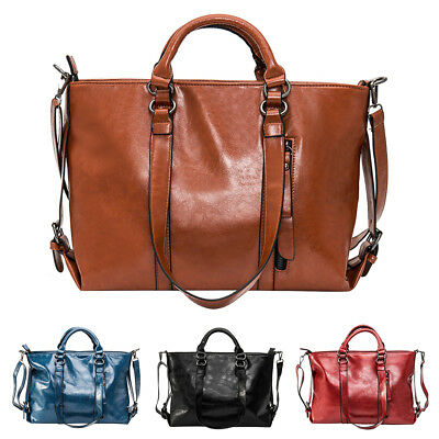 Women's Leather Handbags Tote Purse Bags Messenger Shoulder Bags Gifts 04