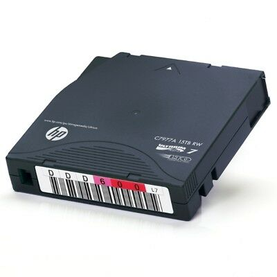 HP ENTERPRISE 100 x LTO7 ULTRIUM 6.0TB / 15TB RW DATA CARTRIDGE (C7977A)