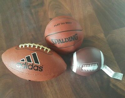 Adidas Football Spalding Basketball Mini