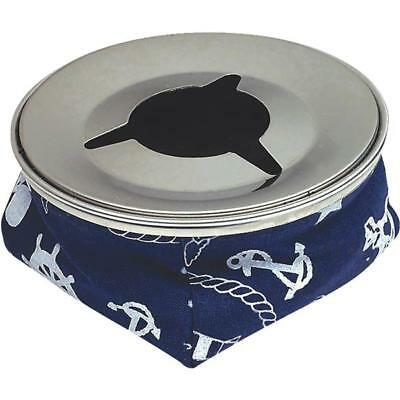 Sea Dog 589611-1 Bean Bag Ash Tray W// Stainless Steel Top Blue