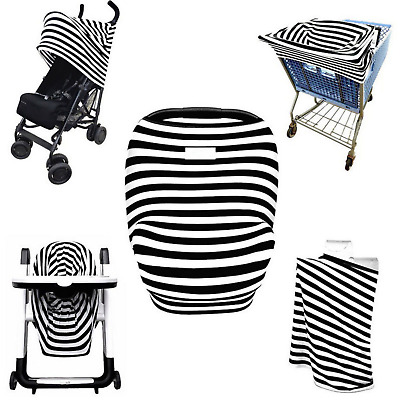Nursing Cover Multi Use Baby Car Seat Canopy Milk Snob Shopping Cart Warm Cover