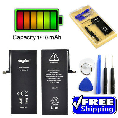 """New 1810mAh Li-ion Internal Battery Replacement for iPhone 6 6g 4.7"""""""