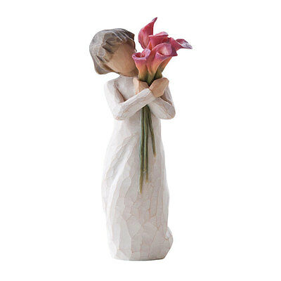 Willow Tree Bloom Figurine  27159 Love Friendship In Branded Gift Box