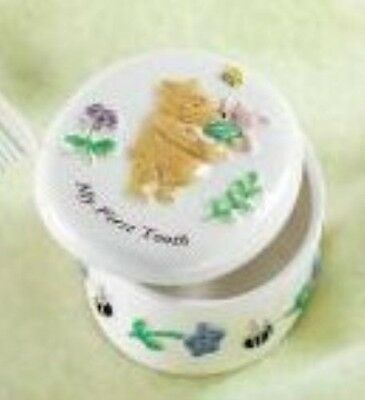 Winnie the Pooh My First Tooth China Trinket Box