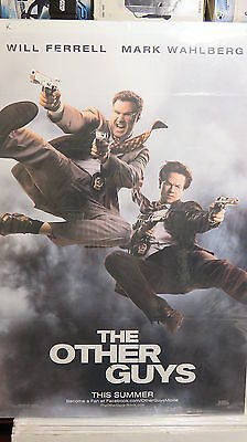 THE OTHER GUYS Original Movie Poster DS 27x40 Mark Wahlberg FREE MARVEL POSTER