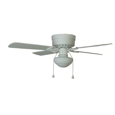 Harbor breeze armitage 42 in white indoor flush mount ceiling fan harbor breeze armitage 42 in white indoor flush mount ceiling fan w light kit aloadofball Images