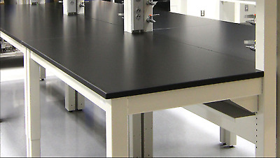 50 Feet of New Phenolic Chemical Resistant Casework Counter tops with Backsplash