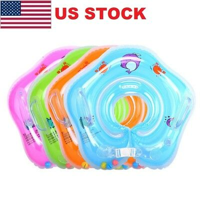 2018 Baby Swim Ring Inflatable Toddler Neck Float Swimming Ring Pool Infant Kid