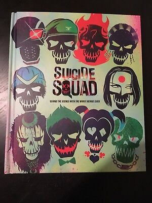 Suicide Squad - Behind The Scenes... Hardcover Artbook Making Of The Film w.NEU