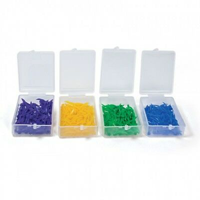 maxill Plastic Dental Wedges with Hole 100/box