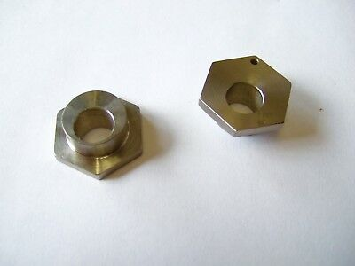 "Pair of front end pills for kid karts new go kart racing 3/8"" x 5/8"" X 3/8"" tall"