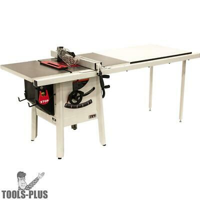 "JET 725001K ProShop II Table Saw, 115V 52"" Rip, Cast Wings New"