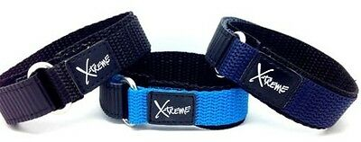 X-Treme 16mm Tough Secure Gancio e Loop Nylon Cinturino Orologio da Donna