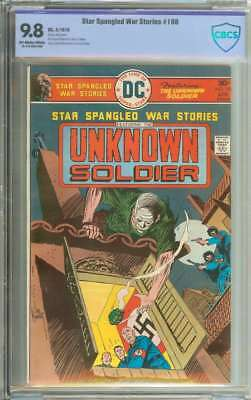 Star Spangled War Stories #198 Cbcs 9.8 Ow/wh Pages