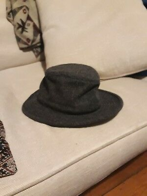 e7a4b47ca TILLEY HAT TEC wool 2 grey size 7 1/8