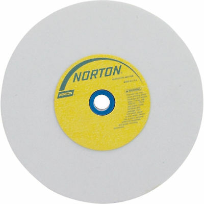 Norton Grinding Wheel - 6in. x 1in., White Aluminum Oxide, 100 Grit