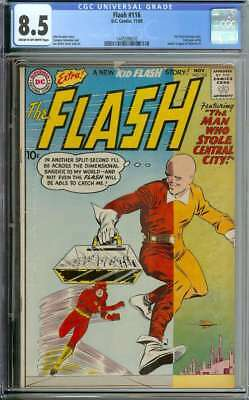 Flash #116 Cgc 8.5 Cr/ow Pages