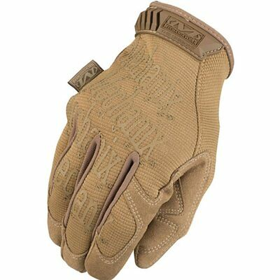 Mechanix Original Coyote Mens Gloves - Tan All Sizes