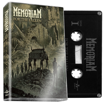MEMORIAM For The Fallen (Black Cassette) limited release limited to 250