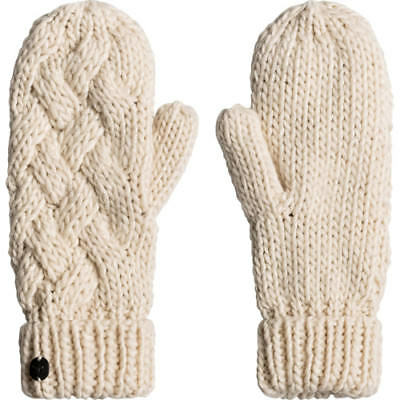 Roxy Love And Snow Womens Gloves Outdoor Mitts - Angora One Size