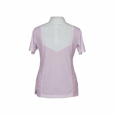 Shires Ladies Short Sleeve Stock Womens Shirt Competition - Pink All Sizes
