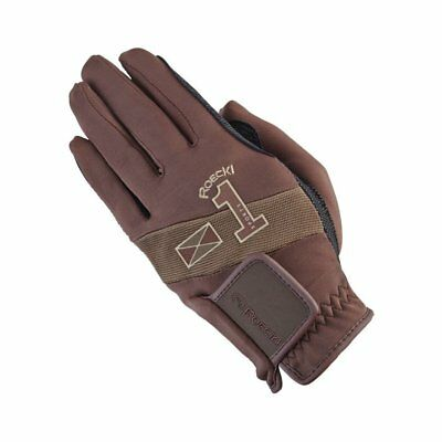 Roeckl Advanced Sport Unisex Gloves Everyday Riding Glove - Brown All Sizes