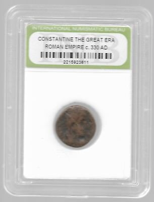 Rare Old Ancient CONSTANTINE GREAT Roman Empire Era War Collection Coin LOT:AB94