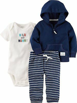d21794964306 CARTER S BABY BOYS  3 Piece Cardigan Set 121g416