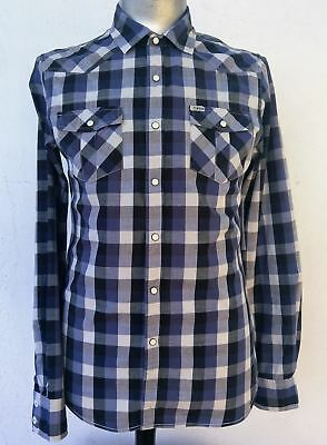 Men's Western shirt by 'Elwood', made in Australia Size M.