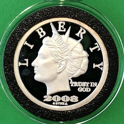 2008 NORFED Liberty Head 10th Anniversary 2/5 Troy Oz .999 Fine Silver Round 999