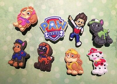 Paw Patrol Crocs Shoes Charms Croc Accessories Jibbitz Wristbands Skye Marshall