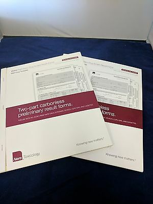 ALERE DRUG SCREEN RESULT FORM, TWO PART CARBONLESS 25 ea 2380P **Free Shipping**