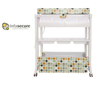 Br New Infa Secure Cosmo Baby Bath And Change Table Centre Changer Station ORGCC