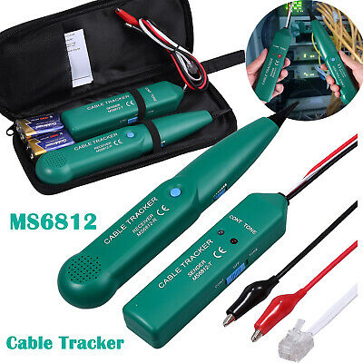 Mastech MS6812 Telephone Phone Network Cable Wire RJ Tracker Toner Tracer Tester