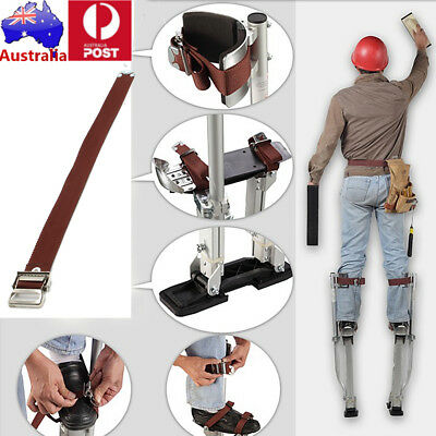 AU STOCK Stilts Comfort Straps Drywall Leg Band Straps Kit HSP400 Hook 60CM Loop