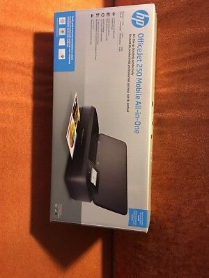 Hewlett-pkard Officejet 250 Mobile All-In-One Printer Copy/print/scan CZ992A NEW