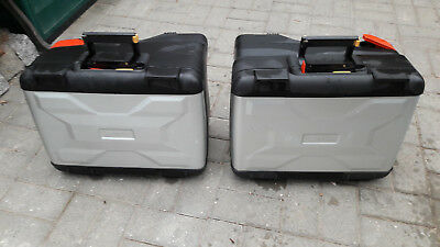 2 original bmw vario koffer r 1200 gs k25 2002 2012. Black Bedroom Furniture Sets. Home Design Ideas