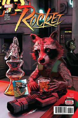 Rocket #6  - New Series 2017 - 1St Print - Marvel Comic - Boarded. Free Uk P+P