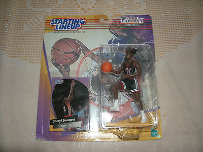 NCAA Starting Lineup Sheryl Swoopes Texas Tech Red Raiders kein McFarlane NBA