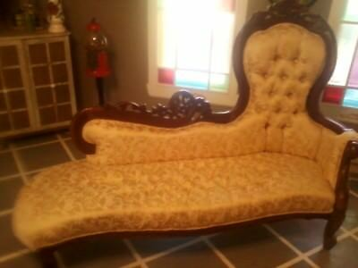 Rosewood, Couch, Chairs And Fainting Sofa,Victorian